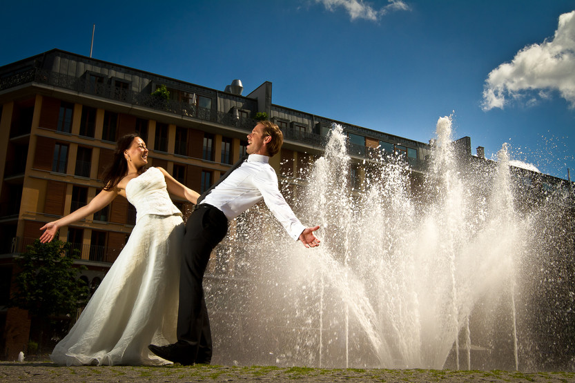 After Wedding Shooting in Frankfurt