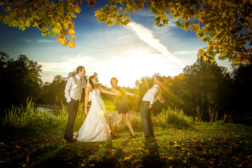 Hochzeit auf dem Hühnerhof in Gettenbach