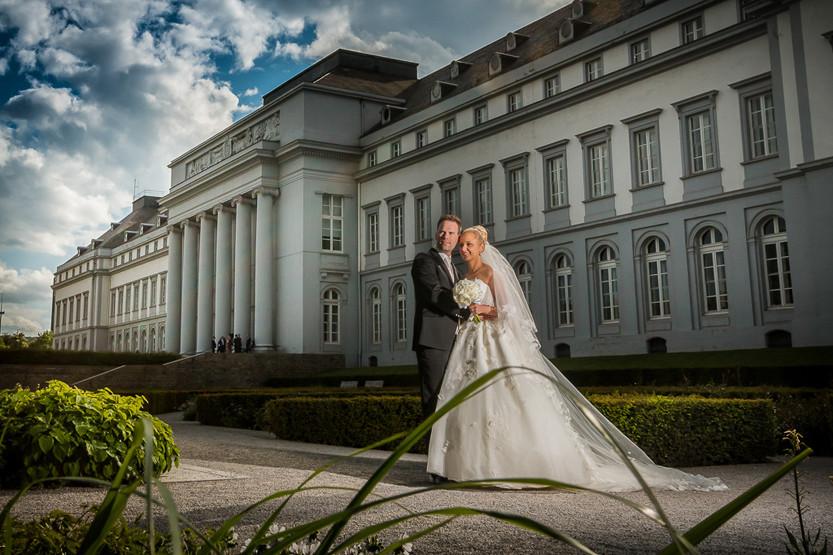 Hochzeit im Schloss von Bad Homburg