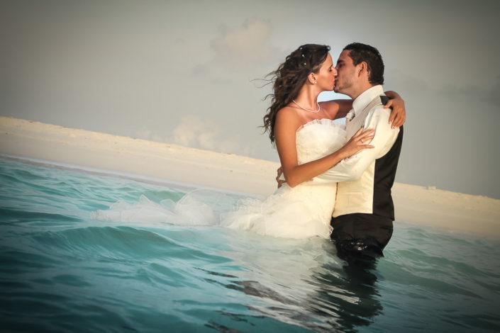 After Wedding Shooting auf den Malediven