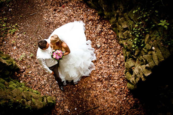 Süßes Hochzeitspaar in Hanau