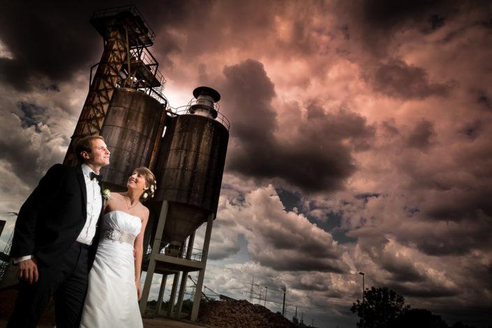 Brautpaarshooting im Hafen von Nilkheim