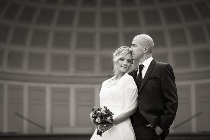 Brautpaar im Kurpark Wiesbaden